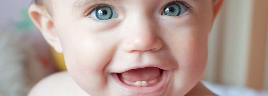 ¿Cuando salen los dientes en los bebés?