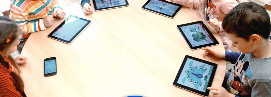 Niños y tecnología en las guarderías