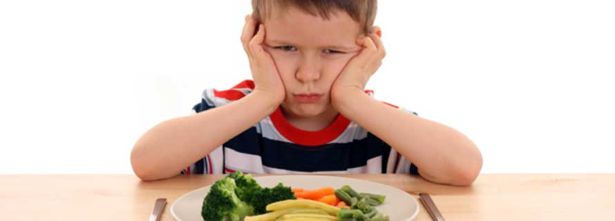 Verduras y niños